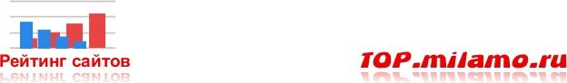 Рейтинг сайтов - TOP.MILAMO.ru